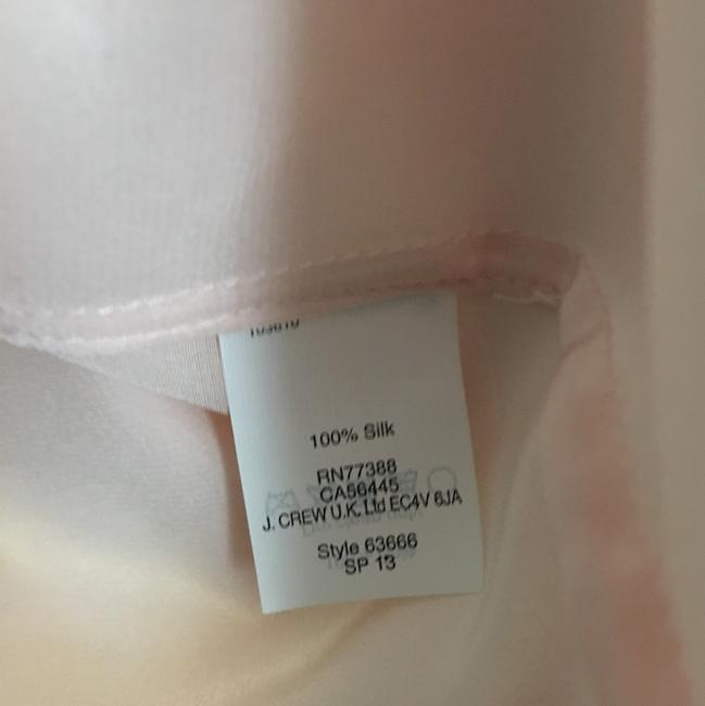 J.Crew Button Down Shirt Pink with magenta Image 3