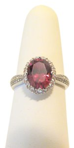Diamonique Diamonique Simulated Ruby Ring size 8