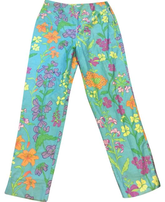 Preload https://img-static.tradesy.com/item/21373306/lilly-pulitzer-floral-straight-leg-pants-size-8-m-29-30-0-1-650-650.jpg