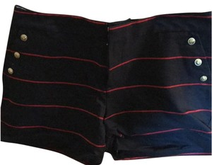 Tommy Hilfiger Mini/Short Shorts red and blue stripped