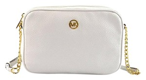 Michael Kors White Summer Leather Cross Body Bag