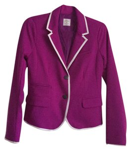 Gap purple, white Blazer