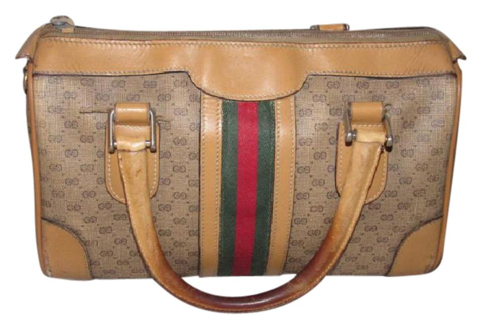 597e04f0ebdb Gucci Small G Logo Print Great Everyday Doctor s Boston Two-way Style  Satchel in ...