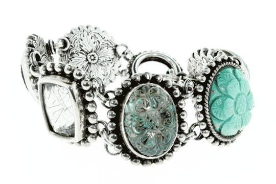 Stephen Dweck MUST SEE - Stephen Dweck Silver statement bracelet with Ori Pouch Image 1