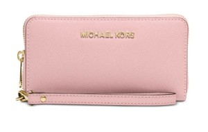 Michael Kors Michael Kors Jet Set Travel Large Luggage Flat Phone Wristlet Wallet