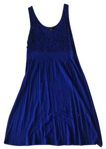 Spense short dress Royal Blue on Tradesy