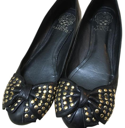 Vince Camuto Black Flats Image 0