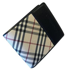 Burberry Burberry folded check wallet