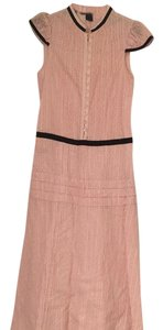 pink and black Maxi Dress by Marc Jacobs