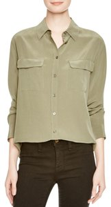 Equipment Button Down Shirt dusty olive