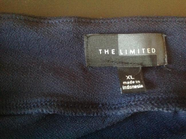 The Limited Like New Top Navy blue with white stripes Image 8