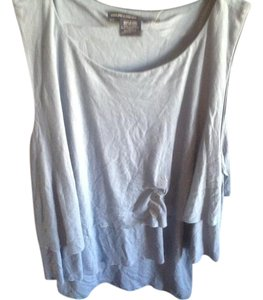 Ralph Lauren Sleeveless With Tags Three Tiers Top Light blue..