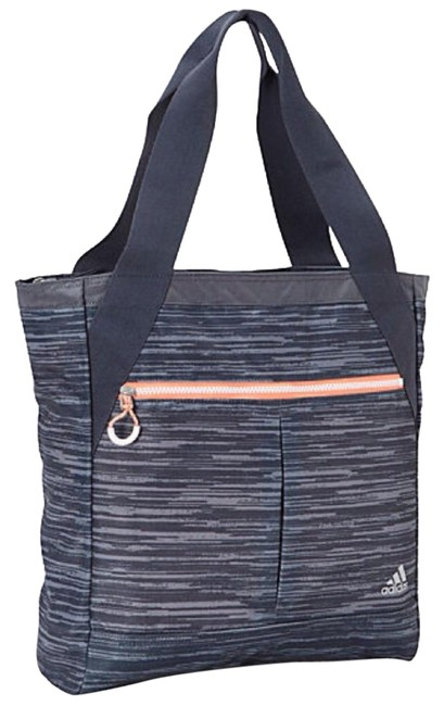 Item - Fearless Black/Gray Polyester Tote