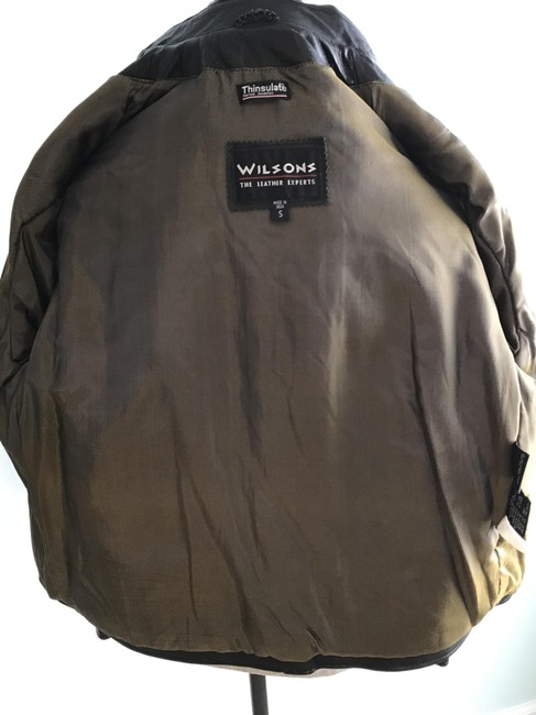 Wilsons Leather Men's Men's Thinsulate Leather Jacket Image 8