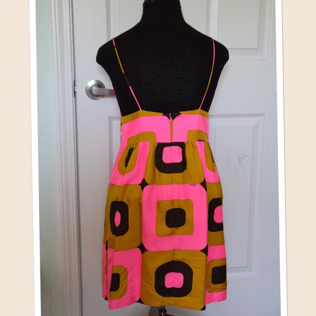 Milly of New York short dress pink and brown! on Tradesy Image 1