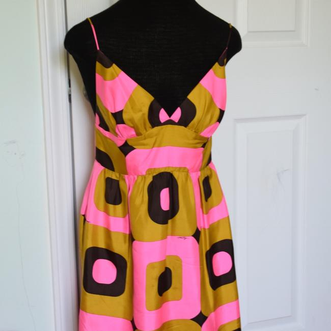 Milly of New York short dress pink and brown! on Tradesy Image 10