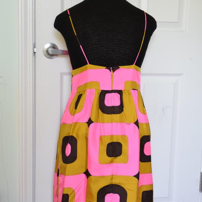 Milly of New York short dress pink and brown! on Tradesy Image 7