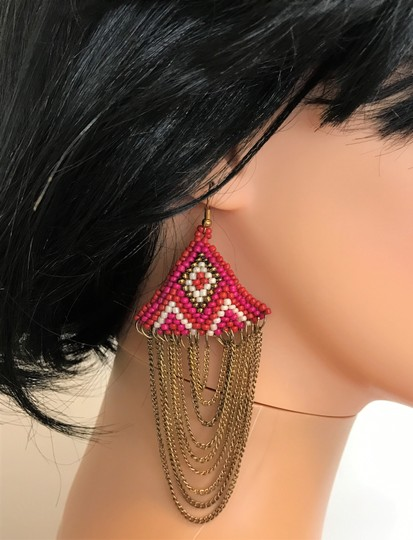 Other chains with beads earrings Image 4