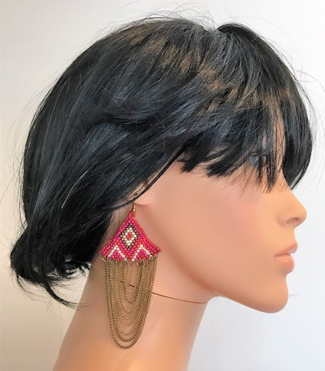 Other chains with beads earrings Image 5