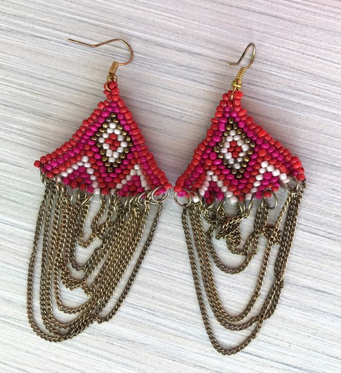 Other chains with beads earrings Image 7
