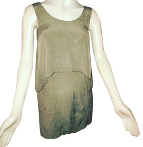 Kensie short dress taupe on Tradesy