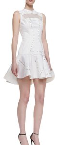 Robert Rodriguez Embroidery Cotton Party Dress
