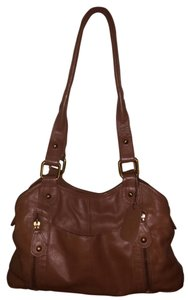 Great American Leather Works Purse Brown Should Shoulder Bag