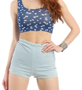 American Apparel Top White Daisy Chain