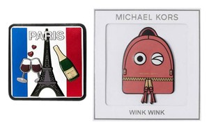 Michael Kors Michael Kors Paris City wink wink Leather Sticker Set