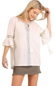 Umgee Embroidered Peasant Tunic