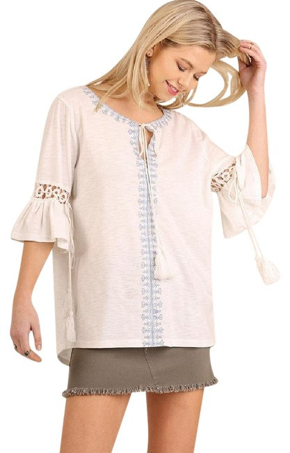 Preload https://img-static.tradesy.com/item/21375674/umgee-off-white-embroidered-peasant-tunic-size-os-one-size-0-1-650-650.jpg