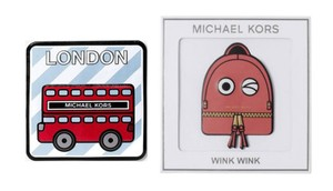Michael Kors Michael Kors London City wink wink Leather Sticker Set