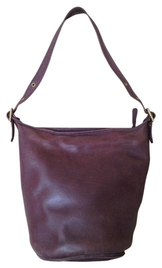 b9fc555b0353 Coach Helen Legacy Bucket Tote Duffle Vintage Brown Leather Shoulder ...