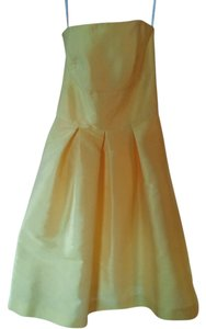 Alfred Sung short dress Daisy D446 Strapless on Tradesy