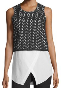 10 Crosby Derek Lam Top black and white