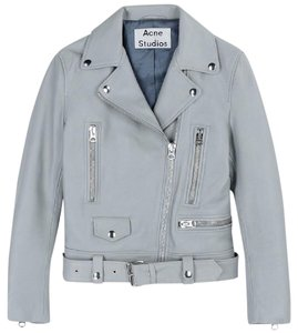 Acne Studios light grey Leather Jacket