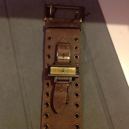 Guess guess leather brown Image 2