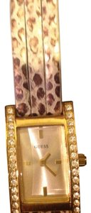 Guess Guess Wrap around reptile watch