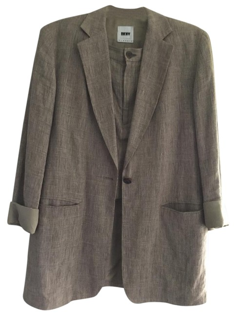 Preload https://item3.tradesy.com/images/dkny-brown-skirt-suit-size-8-m-21377522-0-1.jpg?width=400&height=650
