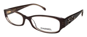 Chanel CH 3198 1187 Brown and Crystal _Chanel Eyeglasses -FREE 3 DAY SHIPPING