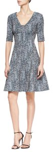 Lela Rose short dress Blue Burberry Chanel Victoria Beckham The Row Gucci on Tradesy