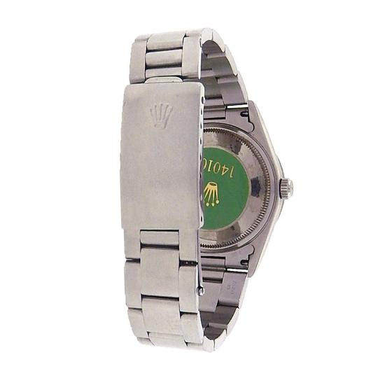 Rolex Rolex Air-King 14010 Stainless Steel Oyster Automatic Black Men's Watc Image 3