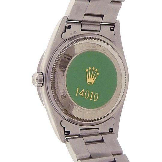 Rolex Rolex Air-King 14010 Stainless Steel Oyster Automatic Black Men's Watc Image 4