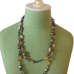 Fourth Daughter fourth daughter brown pearls galore necklace