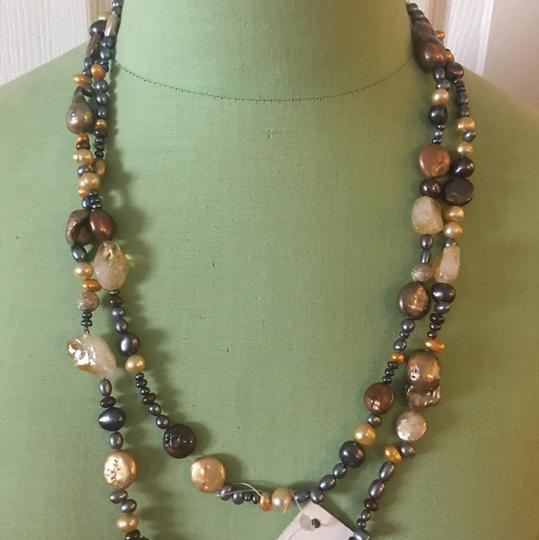 Fourth Daughter fourth daughter brown pearls galore necklace Image 1