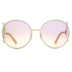 Chloé Chloe JACKSON CE124S light gold/light brown shaded Sunglasses