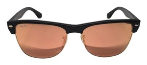 Ray-Ban RB 4175 877 - OVERSIZED Peach Mirror Ray Ban Clubmaster -FREE SHIPPING