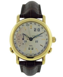Ulysse Nardin Ulysse Nardin GMT +- Perpetual 321-22-31 Yellow Gold Automatic Mens Sw