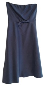 Lynn Lugo Silk Strapless Dress