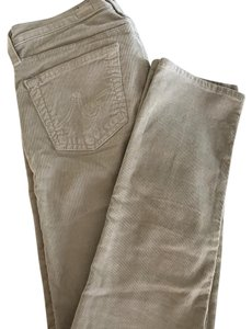 AG Adriano Goldschmied Straight Pants beige